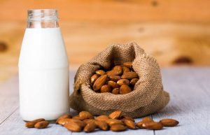 Why should you take almond milk?